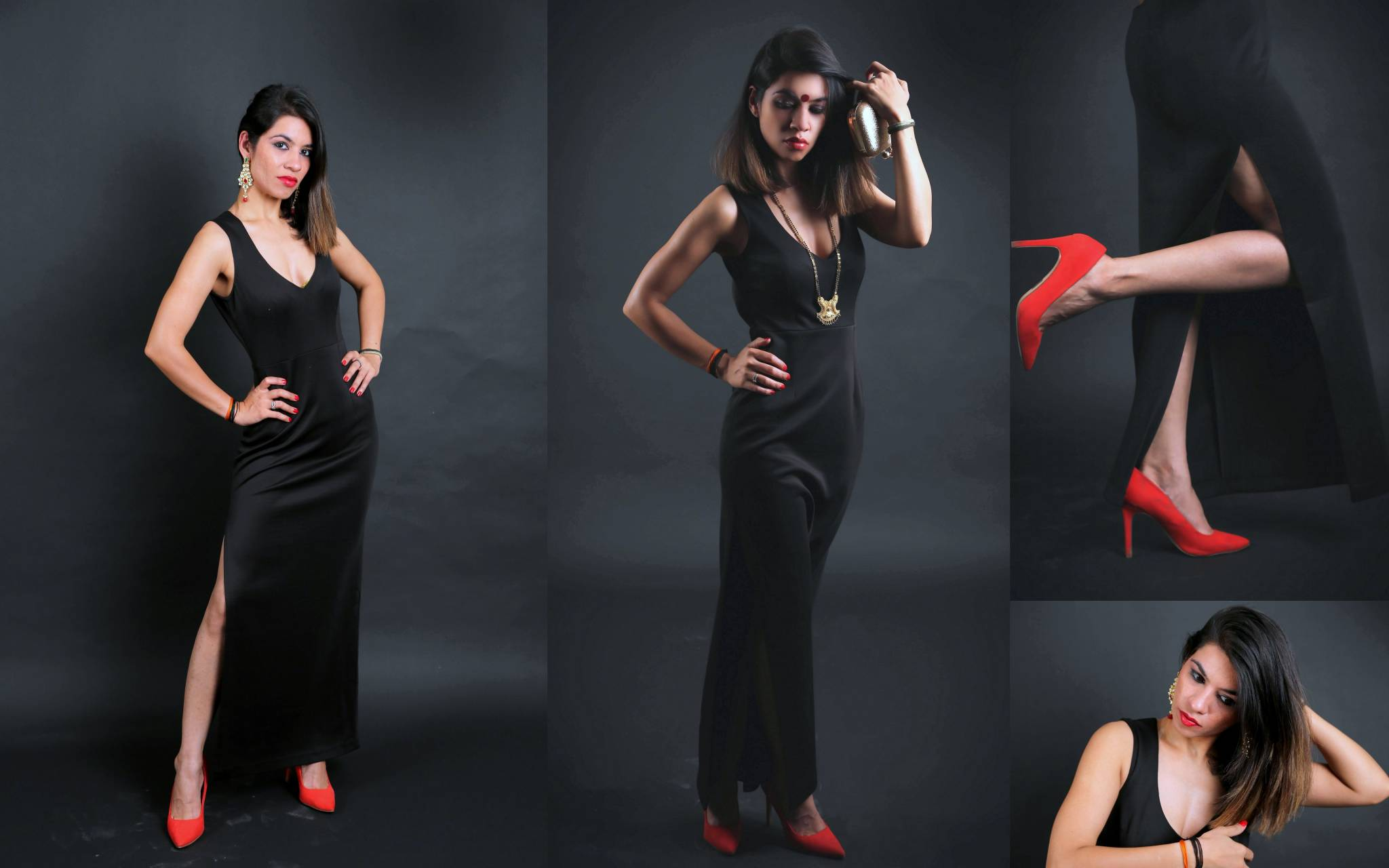 magalsutra, colossal closet, fashion blogger, mansi wadhwa, black, black gown, Indian, marriages, relationships