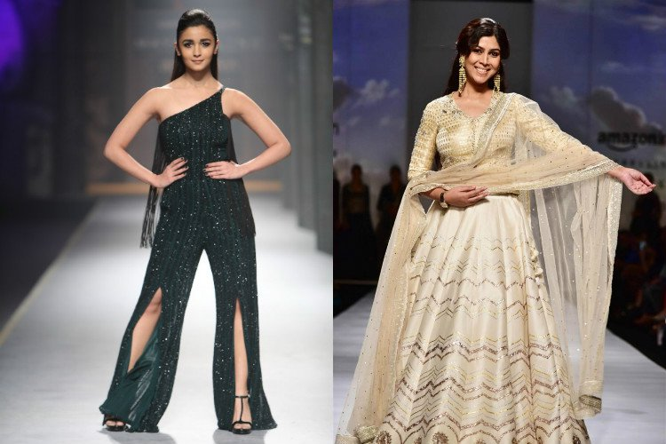 AIFW, Shivan and Narresh, Beach wear, Alia Bhatt, showstopper, Anju Modi, Sid Tytler, AIFWAW17, Fashion week, colossal closet, fashion blogger